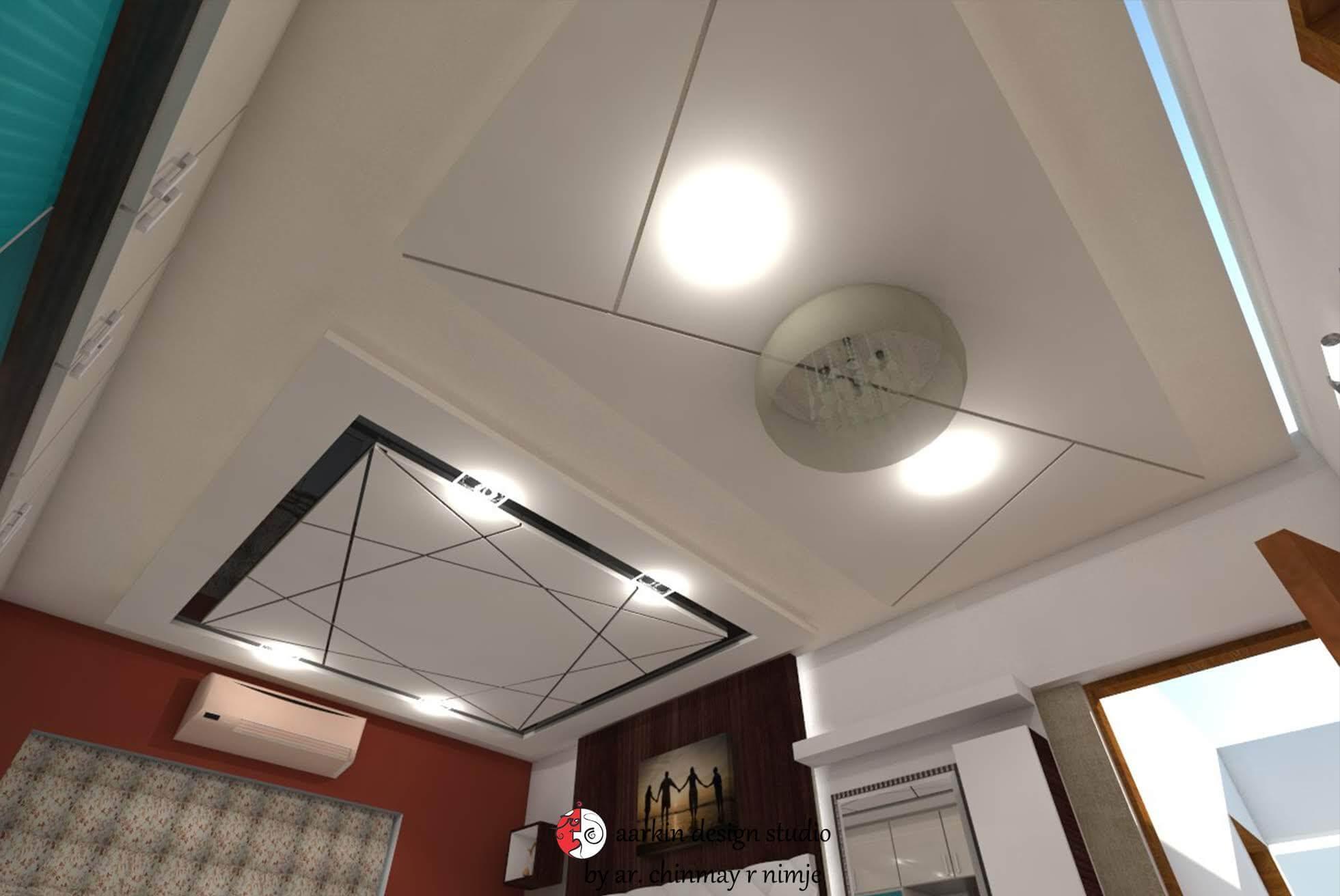 modern false ceiling design view