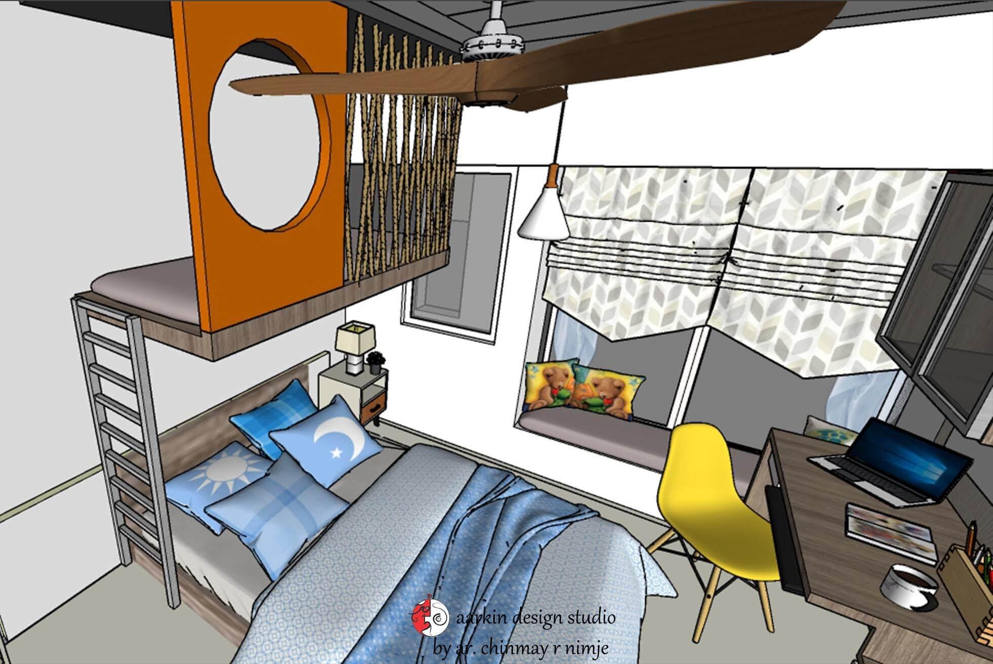 bed lplay storage