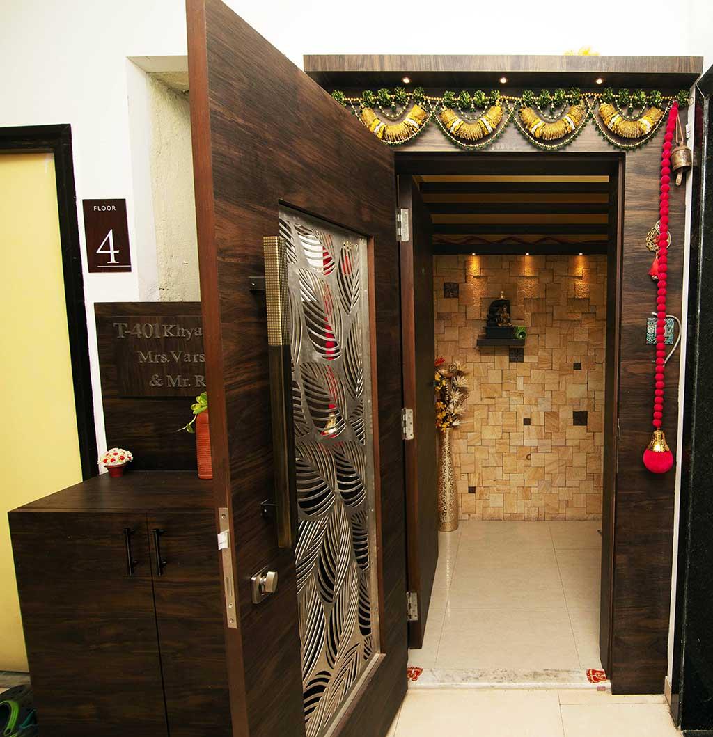 apartment decorative safety door