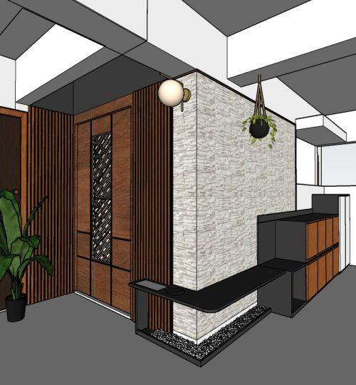 210701_model 1 entrance area