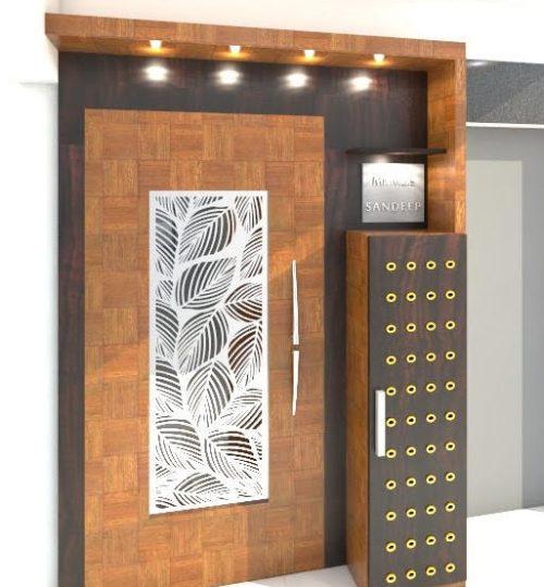 entrance main door