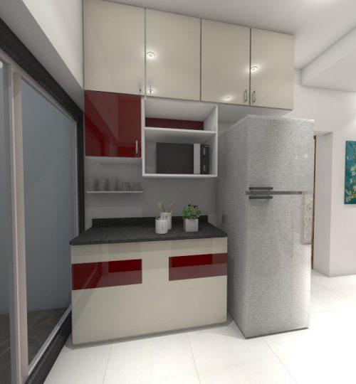 Parallel kitchen- service platform