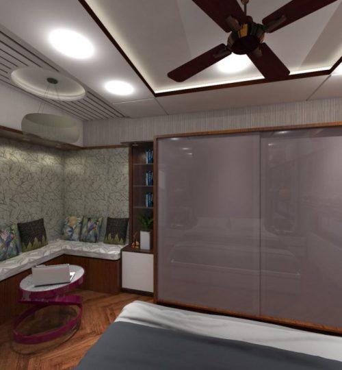 bedroom cozy corner seating